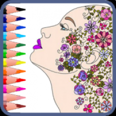 Mandala – adults coloring book