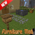 NEW Furniture Mod for MCPE