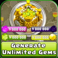 Cheats and Gems for COC prank