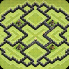 Maps of Clash of Clans 2016