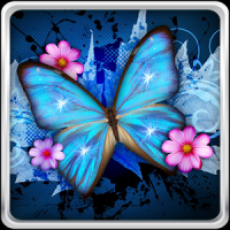 Shiny Butterfly Live Wallpaper