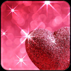 Pink Love Diamond Heart