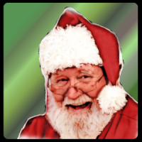 Santa Claus Photo Stickers