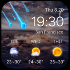 Best Galaxy Live Weather Widge