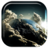 Space Clouds 3D live wallpaper