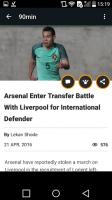 90min - Live Soccer News App for PC