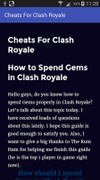 Guide For Clash Royale Cheats for PC
