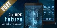 Future 3D Launcher & Locker APK