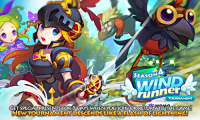 LINE WIND runner APK