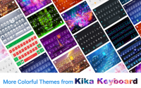 Golden Bow Kika Keyboard Theme APK