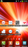 show battery percentage APK
