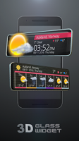 Glass Tech 3D Live Theme APK