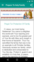 Holy Family Prayers for PC