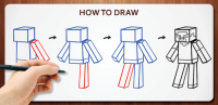 Draw Minecraft for PC