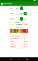 BMI Calculator for PC
