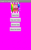 Cheats For Candy Crush Saga for PC