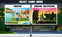 Planet of Cubes Survival Games APK