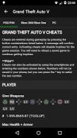 Cheats for GTA APK