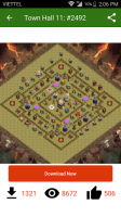 Maps of Clash of Clans 2016 for PC