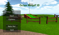 Cartoon Mini Golf Games 3D APK