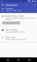 Sync iTunes to android - Free APK