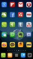 GO Launcher EX UI5.0 theme APK