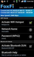 FoxFi (WiFi Tether w/o Root) APK
