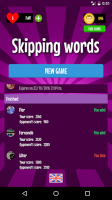 Skipping Words for PC