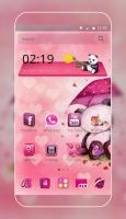 Pink Love Bear Theme for PC
