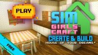 Sim Girls Craft: Home Design for PC