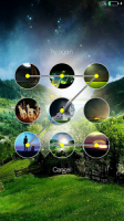 Fireflies lockscreen APK