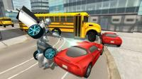 Flying Car Robot Simulator APK