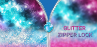 Glitter Zipper Lock for PC