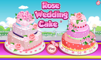 Rose Wedding Cake Game APK