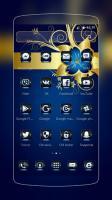 Golden Blue Flower for PC