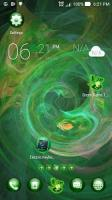 Green Flame GO theme APK