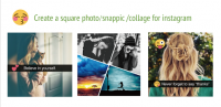 Insta Square Art Snap Photo for PC