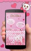 Pink Bow GO Keyboard Theme APK